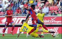 Yaw Yeboah was on target for CD Numancia in their 3-2 loss to Real Oviedo