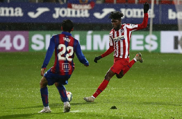 Thomas Partey insists Atletico Madrid needs to \'improve as a team\' after Eibar defeat