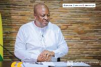 John Dramani Mahama is Former President of Ghana