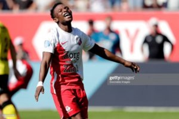 Issah Abass scores in FC Utrecht 3-3 draw with PEC Zwolle
