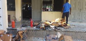 UEW Lab Fire