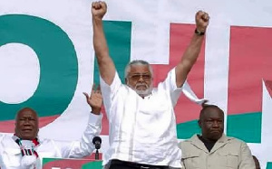 Former President Jerry John Rawlings, founder of the National Democratic Congress