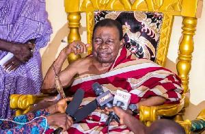 Late paramount Chief of Offinso, Nana Wiafe Akenten III