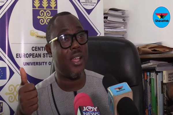 GH¢100,000 filing fee a test of cash-making abilities of candidates - Prof. Gyampo