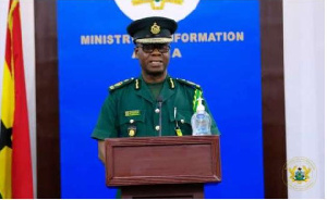 Deputy Comptroller-General of the Ghana Immigration Service, Laud Ofori Affrifah