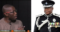 Member of Parliament for Wa West,  Sup. RTD Peter Toobu  and IGP, James Oppong-Boanuh