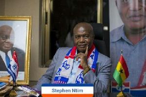 Former National Vice Chairman of the NPP, Stephen Ayensu Ntim