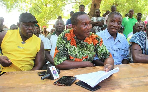 Farmers and water users under the Tono Irrigation scheme in the Kassena-Nankana Municipality