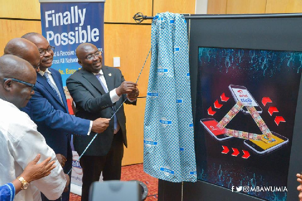 The Mobile Money Interoperability was officially outdoored by Vice President Bawumia