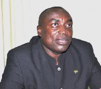Kwabena Agyepong, the suspended NPP General Secretary