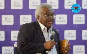 Former Presbyterian moderator, Prof. Emmanuel Martey