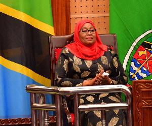 Samia Suluhu Hassan Tanzania