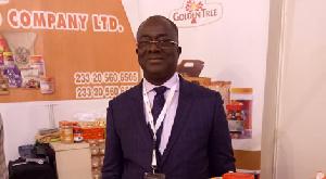 Nana Agyenim Boateng, Managing Director for Cocoa Processing Company