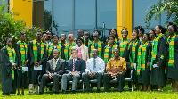 Prof Steve Alder, Dr. Stephen O. Manortey, Dr. Edward Kofi Sutherland and Dr. Reuben K. Kesena-
