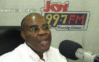 Ayikoi Otoo, Former Chairman of the Legal and Constitutional Committee of NPP