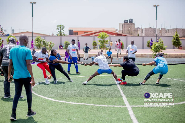 Xcape fitness exercise ends on high