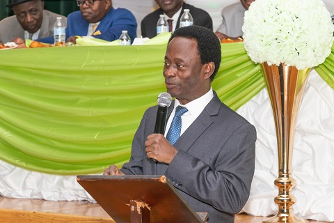 Dr. Prof. Opoku Onyinah, former Chairman of the Church of Pentecost