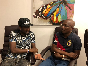 Asamoah Gyan arrived in Ghana on Monday and has resolved any grievances with Kwasi Appiah