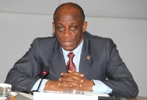 Mr Seth Terkper, Minister of Finance