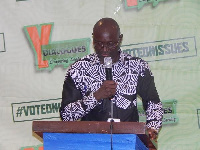 Mr. Johnson Opoku, Director of Programmes, NCCE,