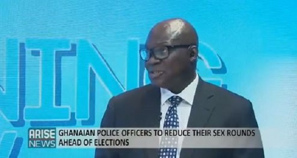 'Prohibiting Ghana Police from sex is an attack on erection industry' - Nigerian Pundit