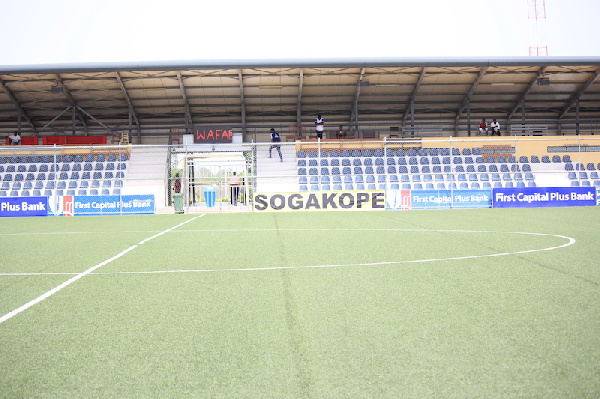 Liberty Professionals relocate to WAFA Stadium in Sogakope