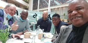 Abdul Fatawu Ishahaku is in Germany to seal a deal with Bayer Leverkusen
