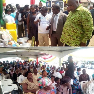 The fair was organized to promote the construction of household toilets within the Municipality