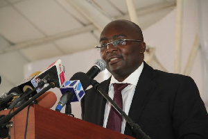 Dr Mahamudu Bawumia, Vice Presidential Candidate of the New Patriotic Party