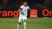 Mahrez's free kick made the difference between Algeria and Nigeria