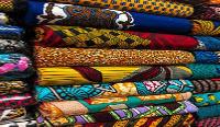 File photo: Ghanaian print frabics