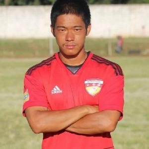Japanese striker, Jindo Morishita