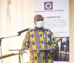 General Secretary of the Public Utility Workers Union, Michael Adumatta Nyantakyi