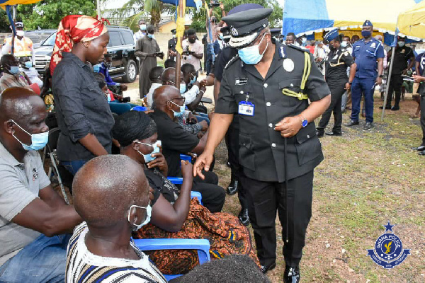 IGP mourns with family of murdered Police Officer
