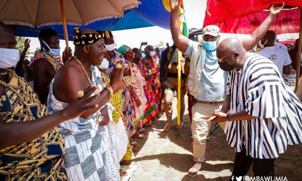 You've fulfilled most of your manifesto promises – Kajaji Chief to Bawumia