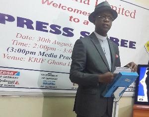 Executive Chairman of Krif Ghana Limited, Reverend Kennedy Okosun
