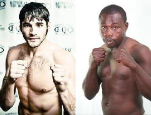 Mike Gavronski is up against Ghana's Thomas Awimbono in Tacoma, Washington, USA