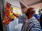 Dr Mahamudu Bawumia commissioning Infectious Diseases Treatment Centre at 37 Military Hospital