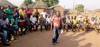 Defected NPP members at Singa/Daboya