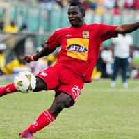 Striker Amed Toure