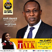 The 'Straight Talk' show is slated on Thursday, 16th of May on Class 91.3 FM
