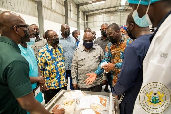 1D1F: President Akufo-Addo Commissions Gh¢10 Million Yam