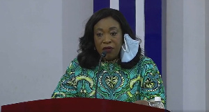 Shirley Ayorkor Botchway is Head of the Inaugural Sub-Committee