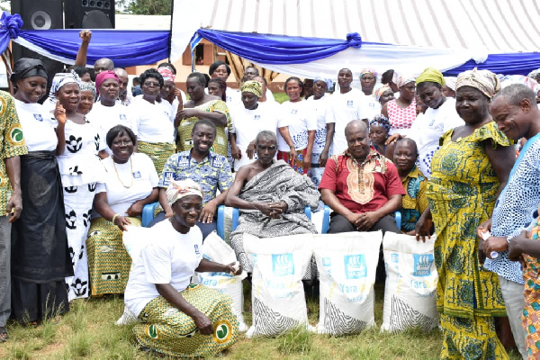 The donation is as part of the Yara Group CEO's gift to women farmers