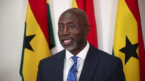 2020 Independent Presidential candidate, Mr. Kofi Koranteng