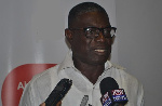 Ghana Golf Association President, Mike Aggrey
