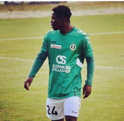 Emmanuel Bio scores for Akademisk Boldklub against KFUM Rosklide