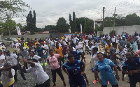 File photo; The exercise took place at the forecourt of  Class Media Group