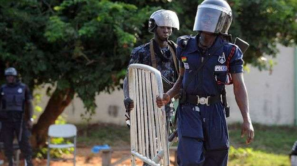 Heavy security at EC ahead of voters registration