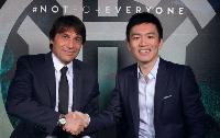 Antonio Conte and Kwadwo Asamoah at Juventus